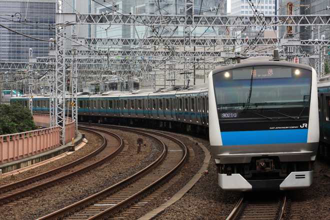 【JR東】E233系サイ118編成東京総合車両センター入場