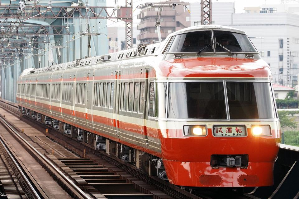 【小田急】7000形7003F大野総合車両所出場試運転