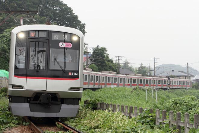 【東急】5050系5169F 長津田車両工場入場