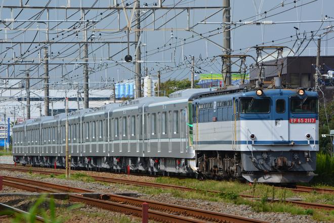 【メトロ】13000系13114F 甲種輸送