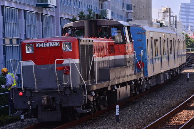 【小田急】3000形中間車2両 甲種輸送