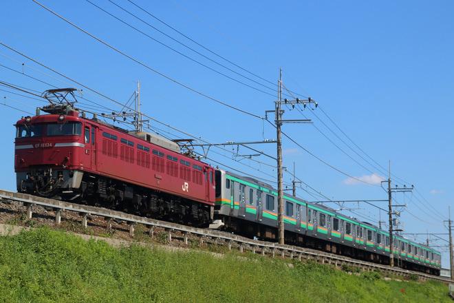 【JR東】E231系ヤマU8編成 郡山総合車両センター入場