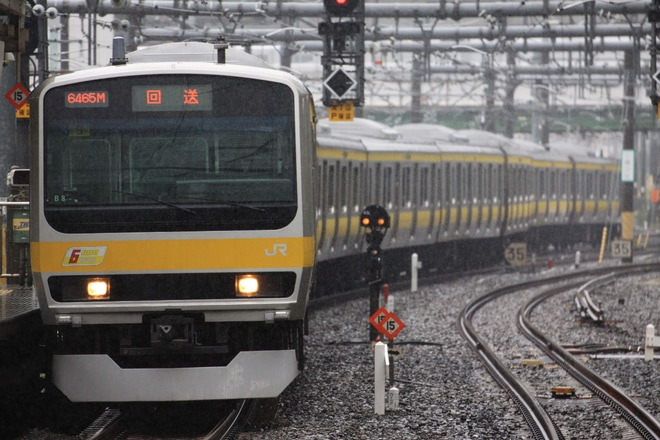 【JR東】E231系ミツB8編成 東京総合車両センター出場