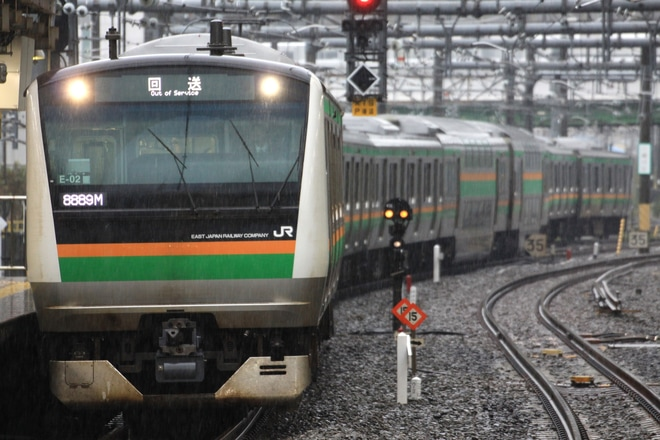 【JR東】E233系コツE-02編成 東京総合車両センター出場