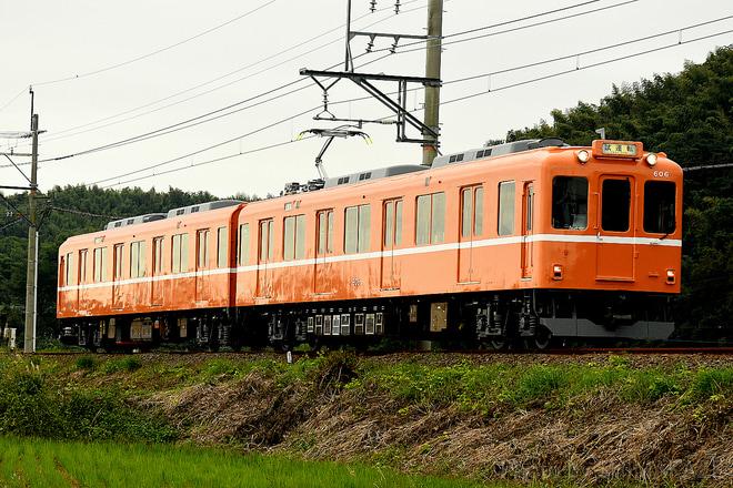 【養老】600系D06編成(ラビットカー) 出場試運転