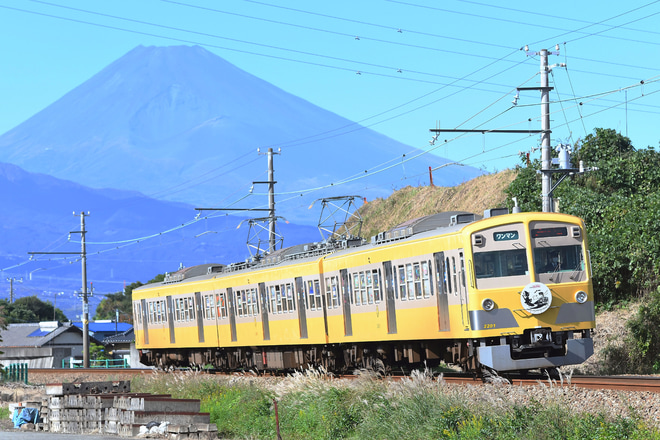 【伊豆箱】1300系1302編成 ハロウィン電車