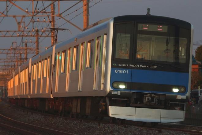 【東武】60000系61601F返却回送