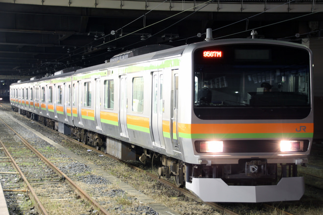 【JR東】E231系元ミツB5編成 秋田総合車両センター出場配給