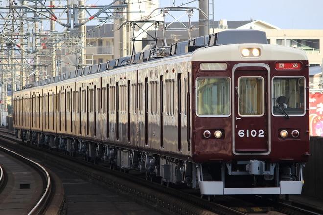 【能勢】6000系6002F 返却回送