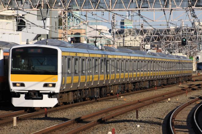 【JR東】E231系ミツA515編成 東京総合車両センター出場