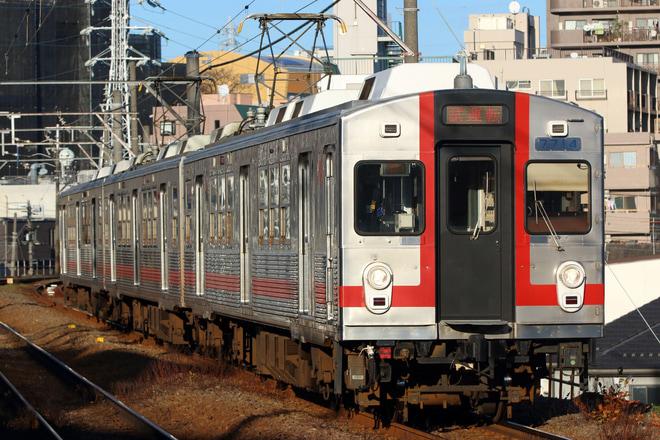 【東急】7700系7914F 池上線内で試運転