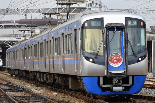 【西鉄】3000形3012F使用「クリスマス電車」運行中