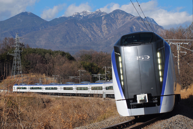 【JR東】E353系特急スーパーあずさ号で営業運転開始