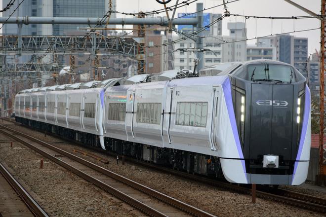 【JR東】E353系S104+S204編成利用 団体列車
