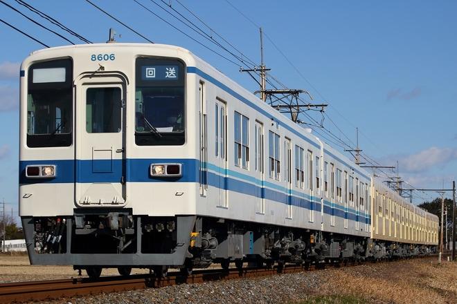 【東武】8000系81111F 出場回送