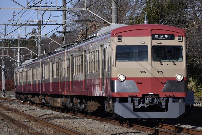 【西武】新101系1247Fが赤電カラーに