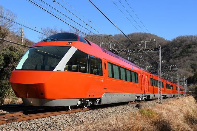 【小田急】70000形(GSE)70051F 性能確認試運転