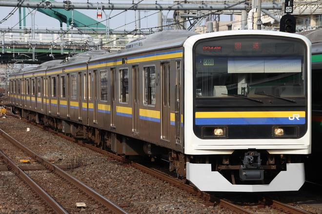 【JR東】209系マリC406編成 大宮総合車両センター出場