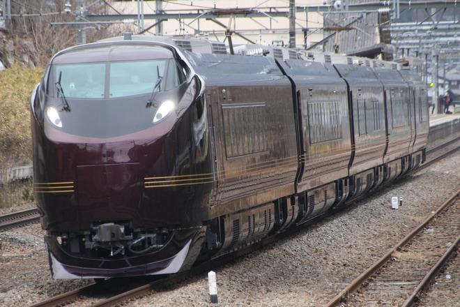 【JR東】E655系「和」使用 富士山麓初詣号運転