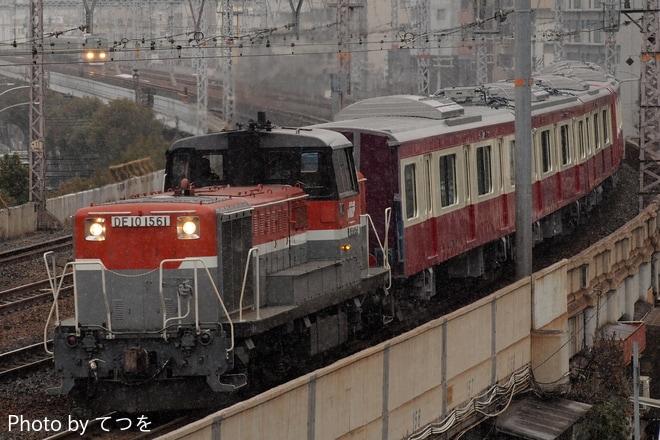 【京急】新1000形1619編成 甲種輸送