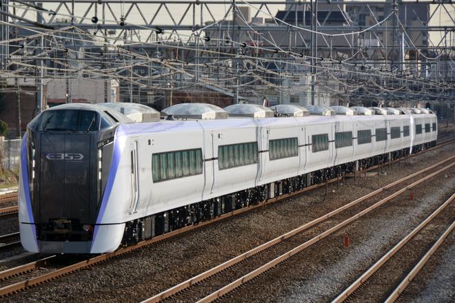 【JR東】E353系S105+S205編成 J-TREC出場