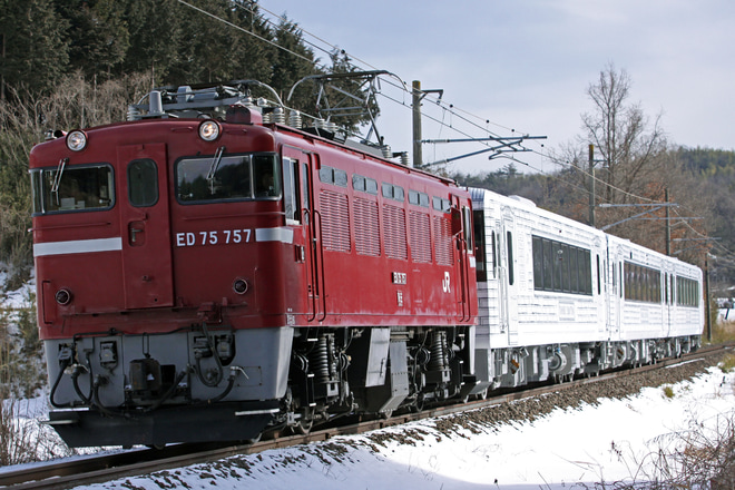 【JR東】キハ110系「TOHOKU EMOTION」郡山総合車両センター出場配給
