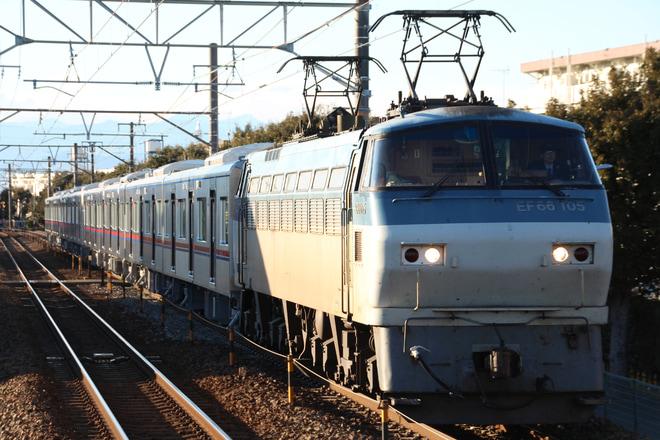 【京成】3000形3037編成 甲種輸送