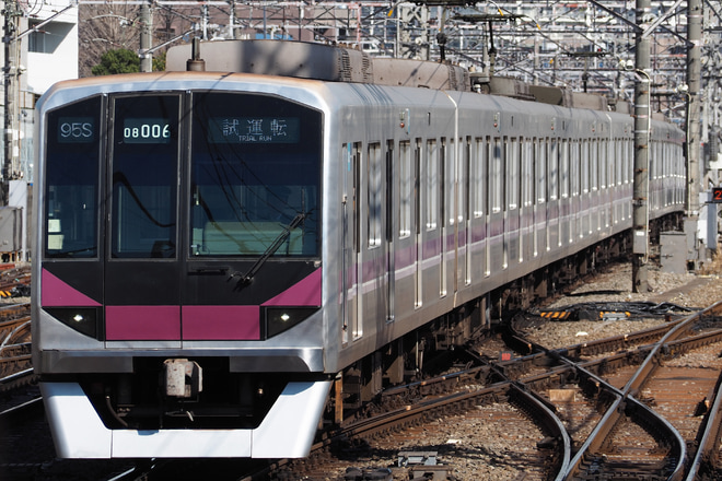 【メトロ】08系08-106F鷺沼出場試運転