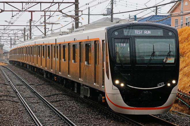 【東急】6020系6122編成 性能確認試運転