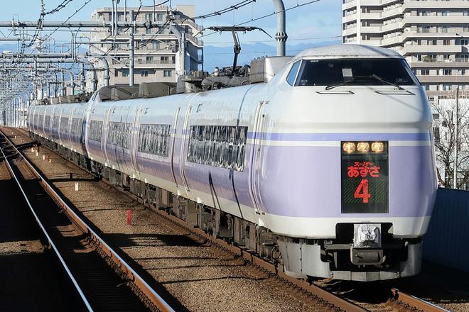 【JR東】特急スーパーあずさ E351系の運用が終了