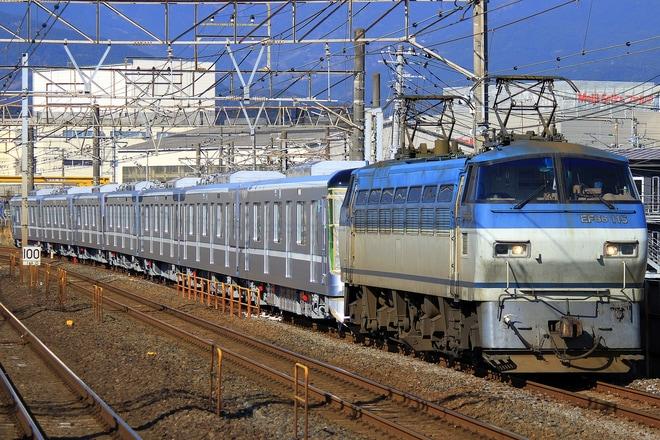 【メトロ】13000系13117F 甲種輸送