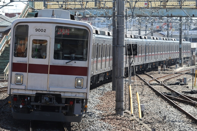 【東武】9000系9102F 出場試運転