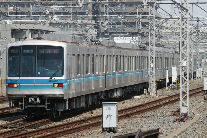 【メトロ】05系05-119F 深川工場出場試運転