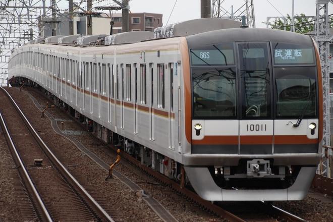 【メトロ】10000系10111F 綾瀬工場出場試運転