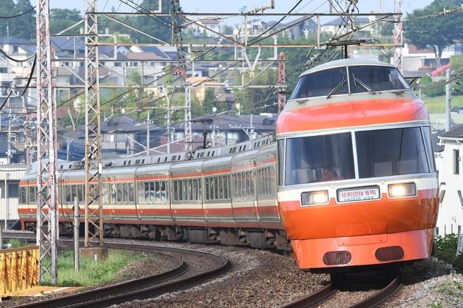【小田急】7000形7004F(LSE)特別団体専用列車運転