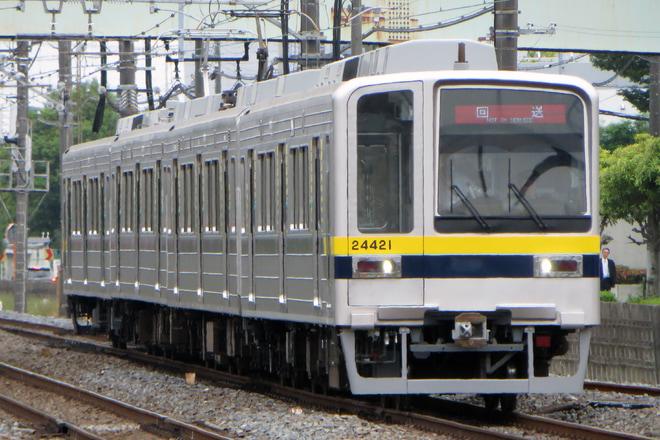 【東武】20000系21421F(リニューアル車) 初の日中走行