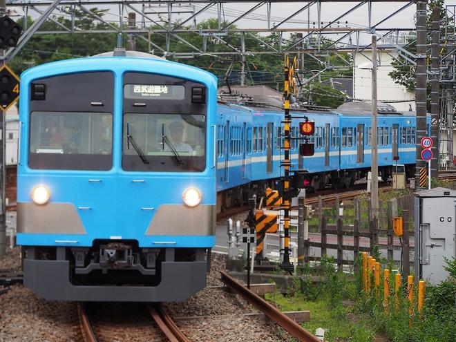 【西武】1251Fが近江鉄道100形塗装に