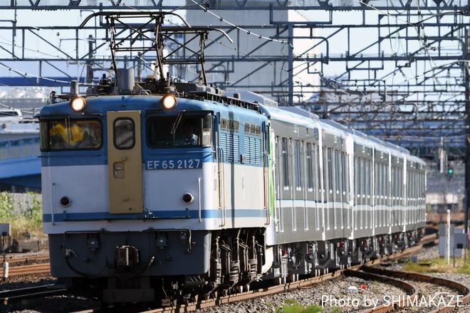【メトロ】13000系13122F甲種輸送