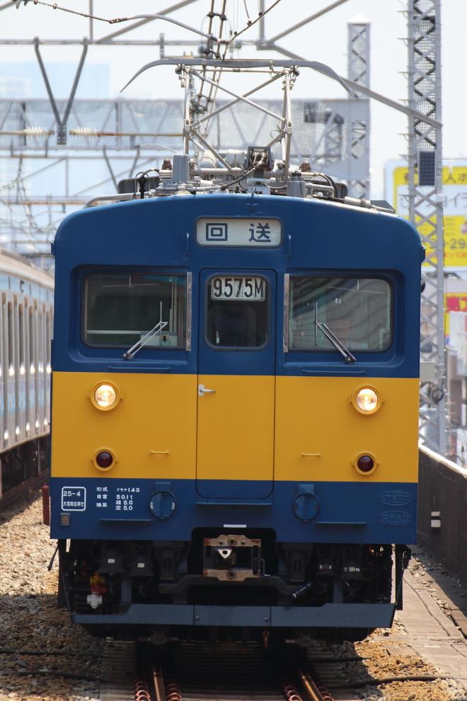 【JR東】クモヤ143-8 返却回送