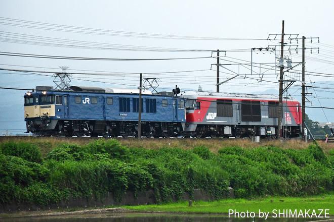 【JR貨】DF200-222甲種輸送