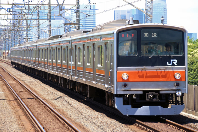 【JR東】205系ケヨM10編成 車輪転削回送