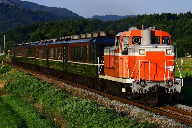 【JR東】ばんえつ物語客車を利用したDE10牽引臨時快速