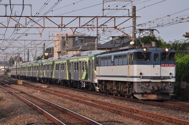 【東急】東急7000系7114F+7112F+7110F甲種輸送