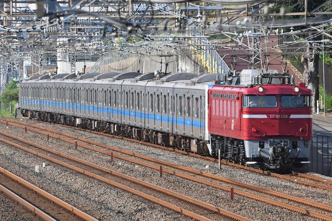 【小田急】4000形4065F 大宮総合車両センター出場配給輸送
