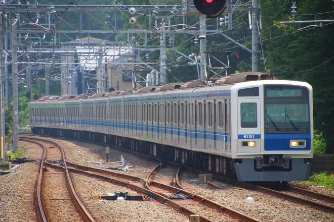 【西武】6000系6151F武蔵丘車両検修場入場