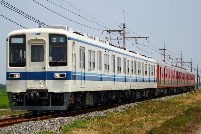 【東武】8000系81107F 出場回送