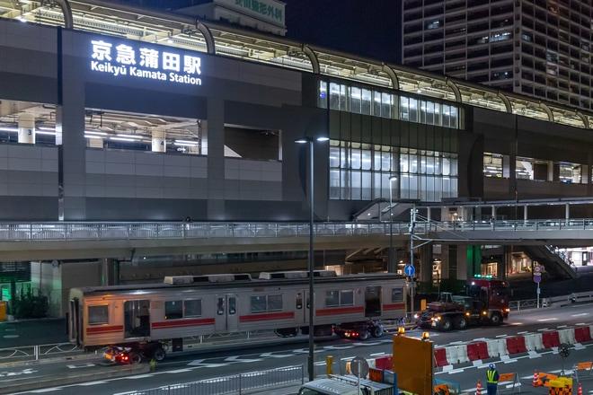 【東急】東急2002F中間車 廃車陸送