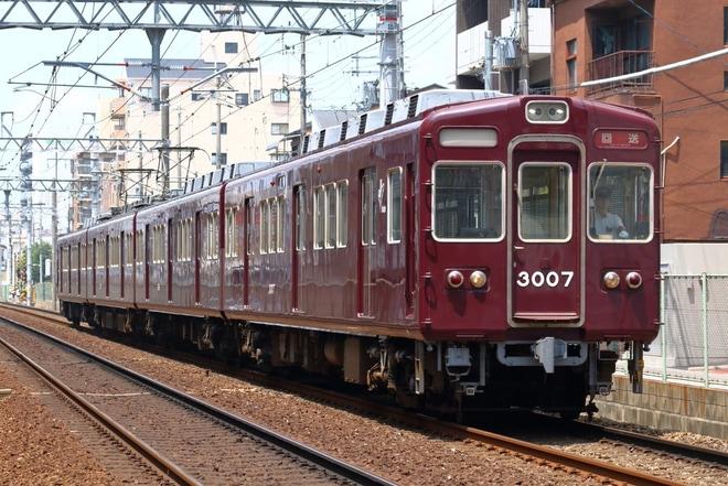 【阪急】3000系3052F廃車回送