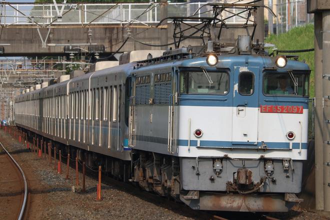 【メトロ】07系07-104F甲種輸送