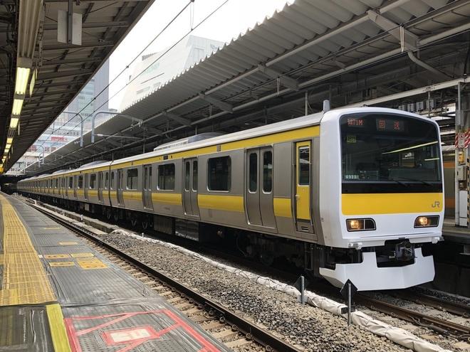 【JR東】E231系ミツA523編成東京総合車両センター出場